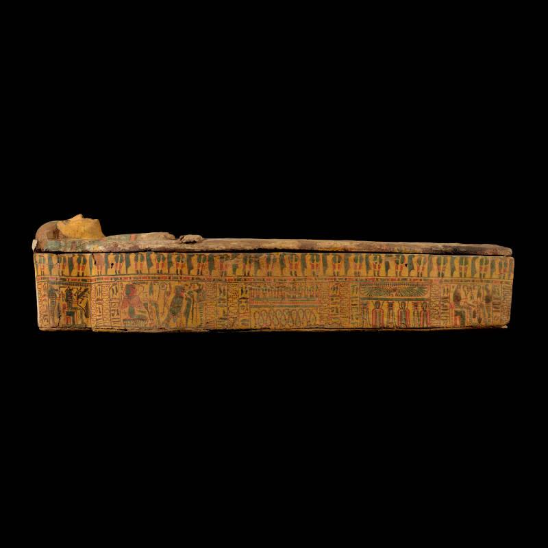 Sarcofago della mummia di Asti