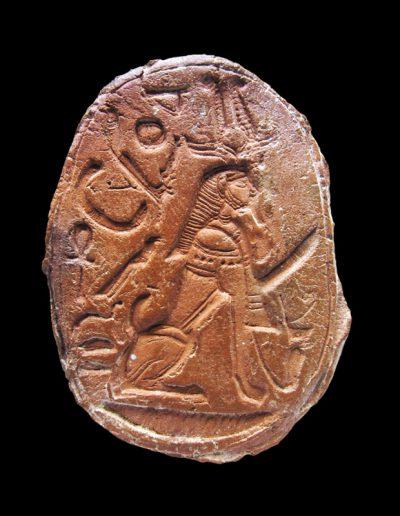 Sigillo in steatite con prenome di Amenhotep