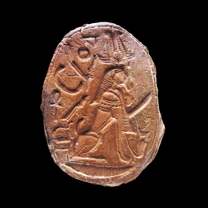 Sigillo in steatite con prenome di Amenhotep